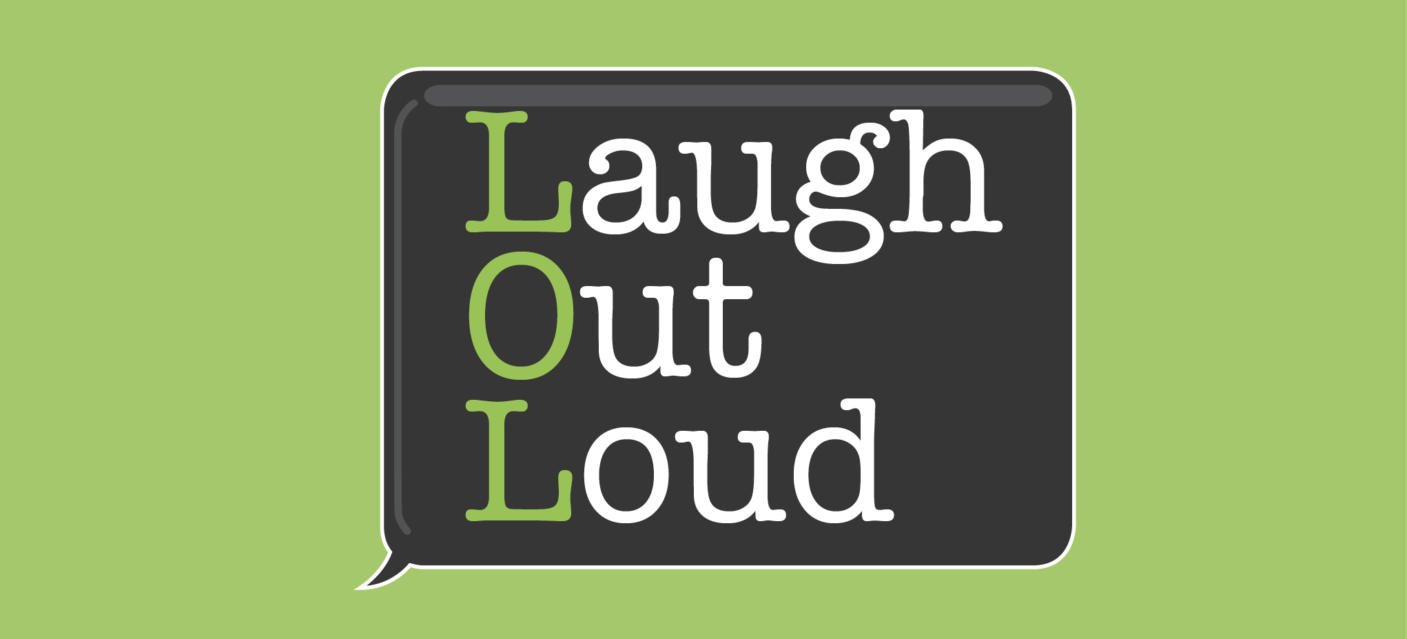 learn how to laugh out loud